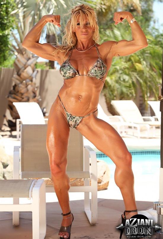Female muscle porn star ariel x masturbates - 57 part 8