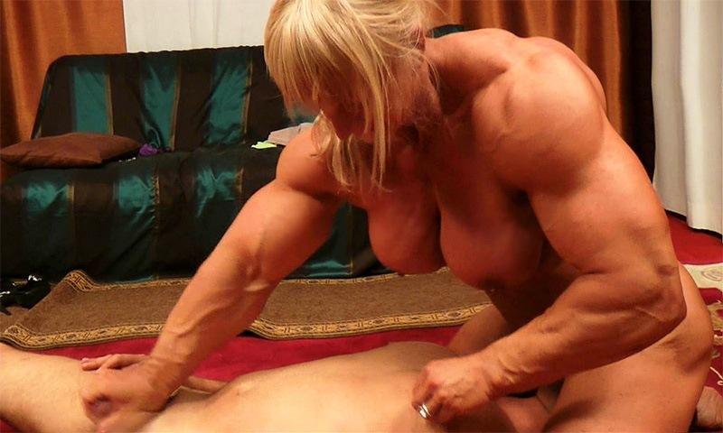 Tall muscle women handjob free pics