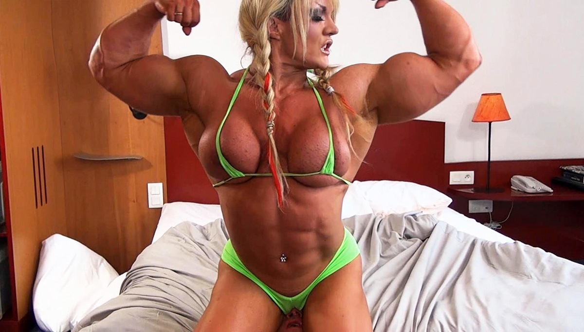 Muscle Women Porn blonde muscle girl porn | sex pictures pass