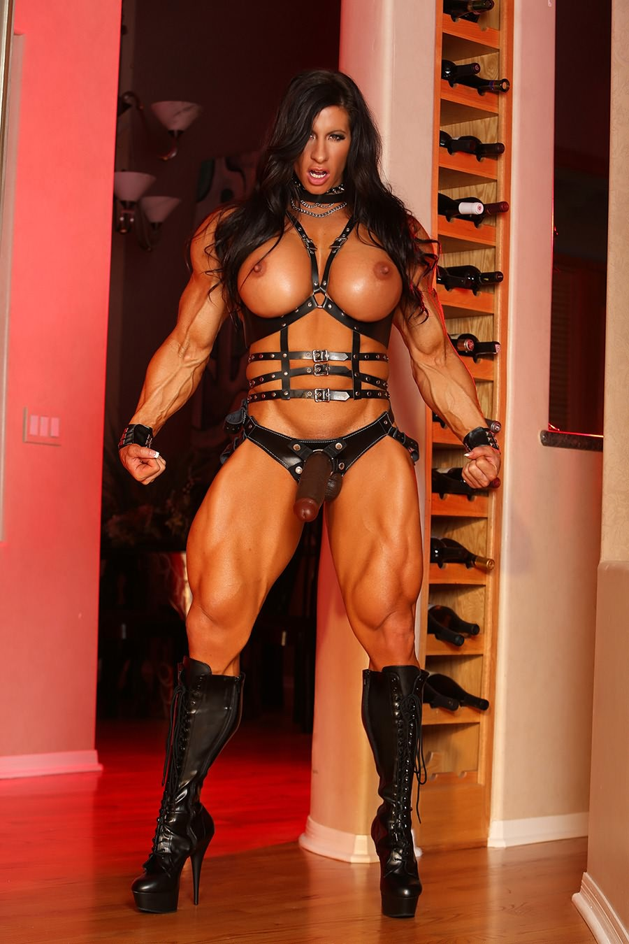 Female muscle domina think, that